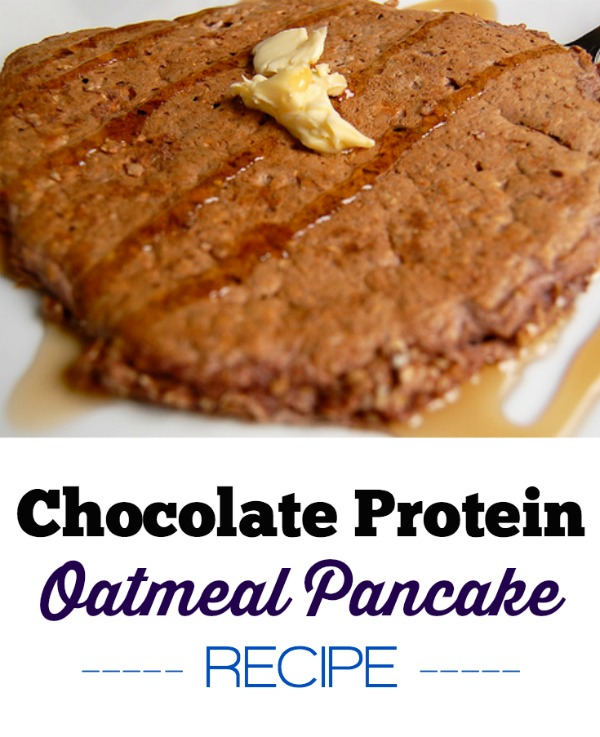 chocolate protein oatmeal pancake recipe