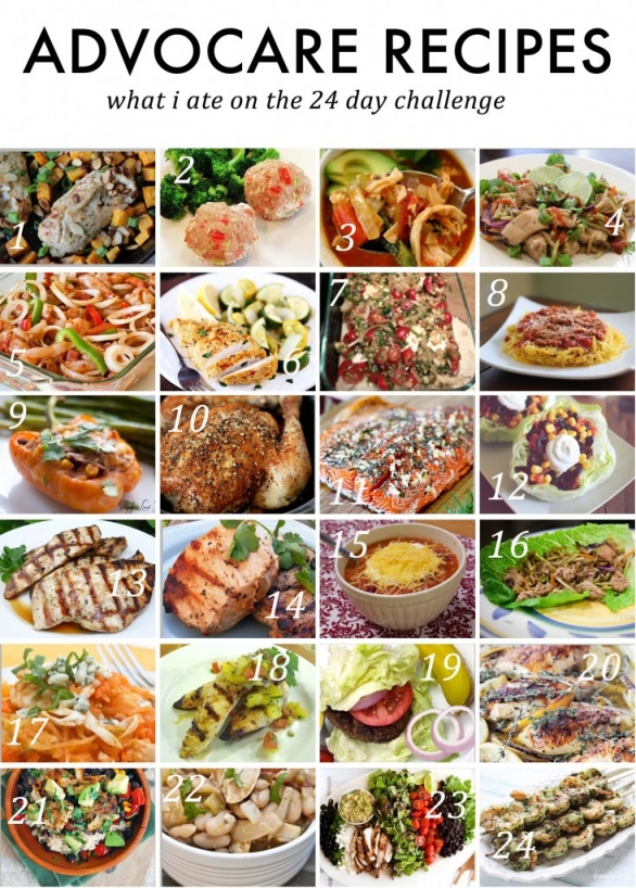 healthy advocare recipes by jenny collier