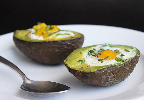 healthy advocare recipes - egg baked in advocado