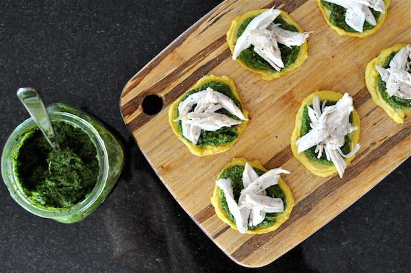healthy clean advocare recipe - mini paleo chicken pizzas