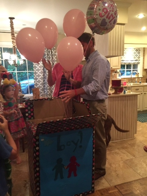 gender reveal party its a girl
