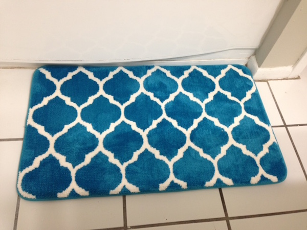 new bath mat