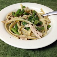 Garlic Pesto Green Bean Chicken Pasta