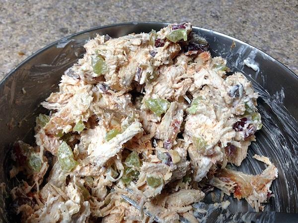 healthy chicken salad recipe - amerrylife.com