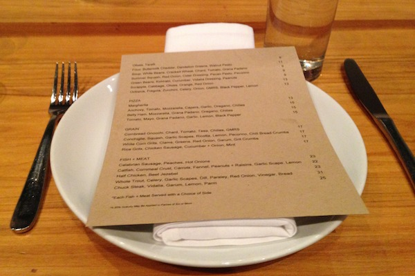 nashville trip recap city house menu