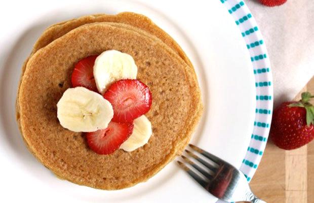 Vanilla-Spiked-Protein-Pancakes