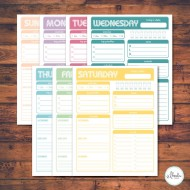 15 Meal Planner Ideas: Notepad & Printable Meal Planners