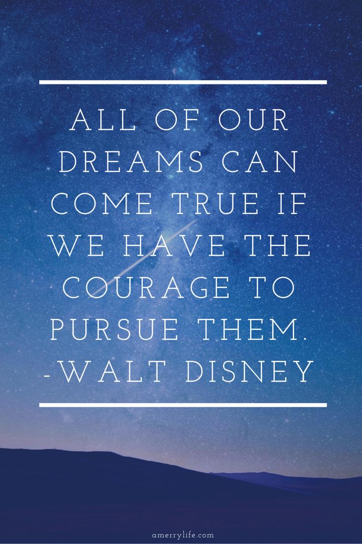 motivational quote by walt disney - amerrylife.com