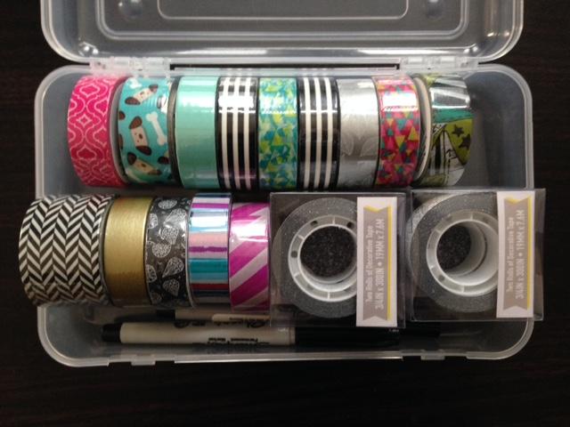 washi tape haul craft supplies