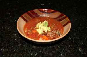 Slow Cooker Bison Chili Recipe by Project Healthy Ever After