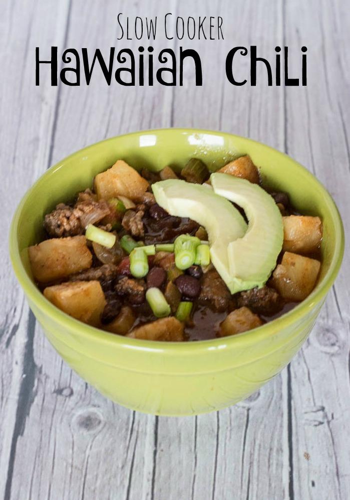 Slow Cooker Hawaiian Chili by Upstate Ramblings