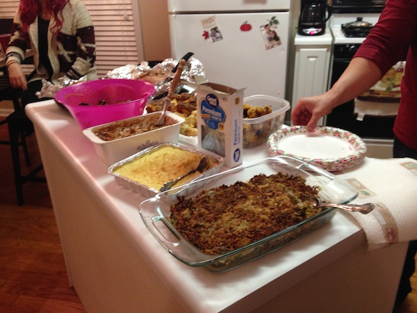 a merry life family thanksgiving dinner