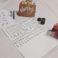 Take A Class: My First Calligraphy Class