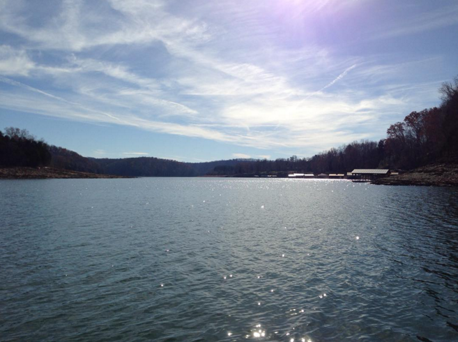 lake norris in tennessee for thanksgiving