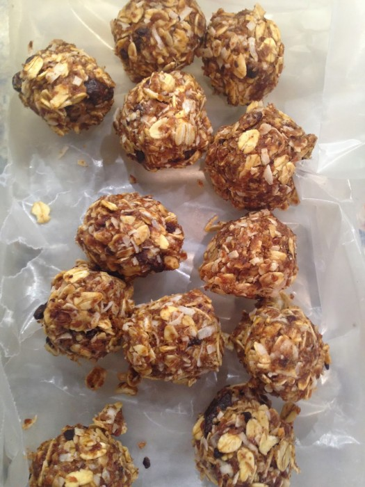 no bake energy bites by AdvoCare Runner
