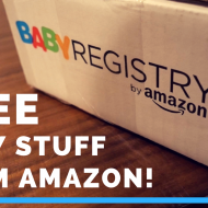 FREE Baby Stuff! Amazon Baby Registry Welcome Box Unboxing