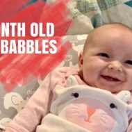 2 Month Old Baby Babbles & Smiles