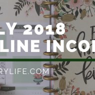 July 2018 Online Income Report | Rebuilding Online Income – Update 1